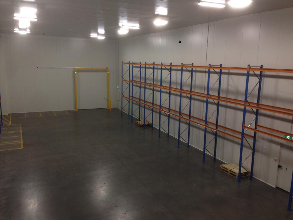 DB Schenker Melbourne Coolroom & Fabrication of Door Protection